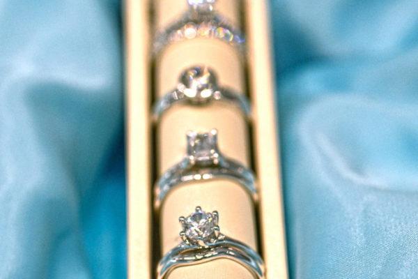 Custom rings made by Zoran Design Jewelry.