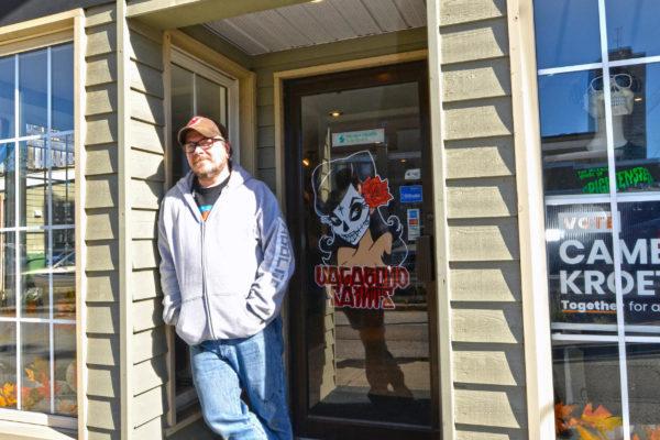 Exterior view of Vagabond Saints tattoo parlour.