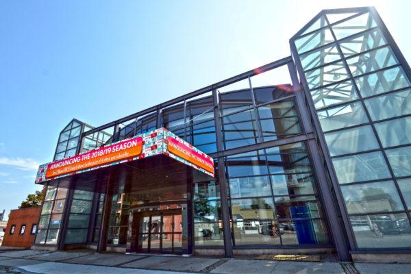 Exterior view of Theatre Aquarius.