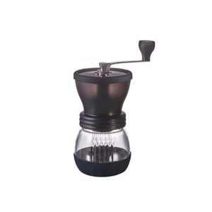 Hario Skerton Plus Manual Coffee Grinder. A very versatile grinder with a full range of grind sizes.