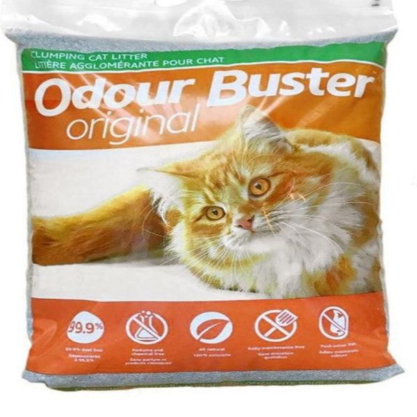 Bag of Odour Buster original clumping cat litter