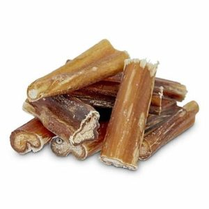 A stack of healthy all natural dog chews