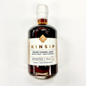 Bottle of Kinsip Maple Syrup