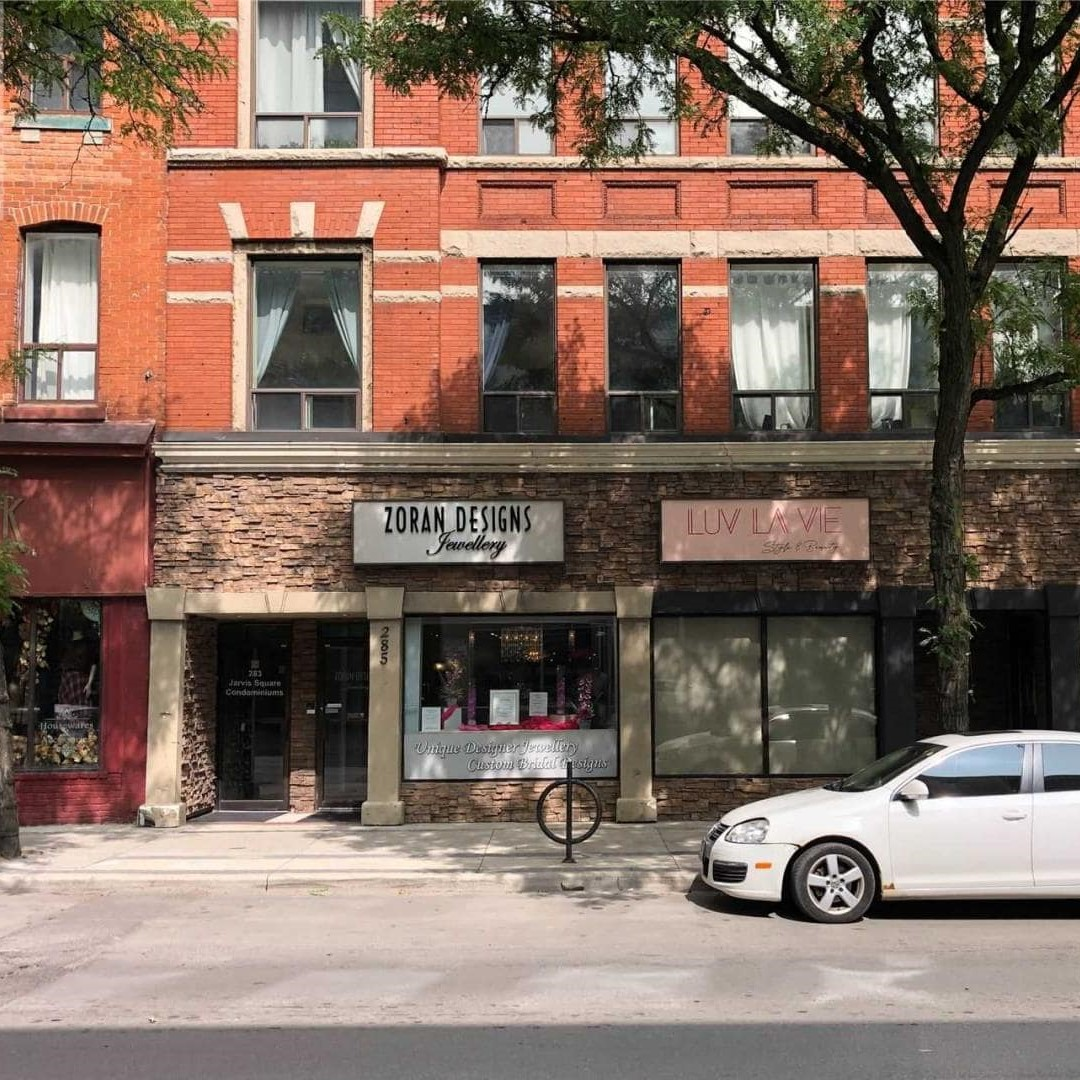 Exterior image of 285 King Street East.