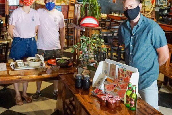 Image of people in Liu Liu Hot Pot
