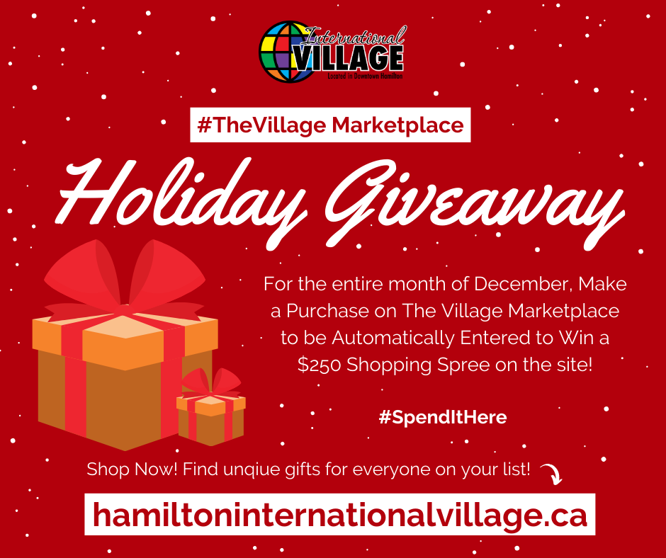 Image of the Holiday Giveaway Contest Artwork