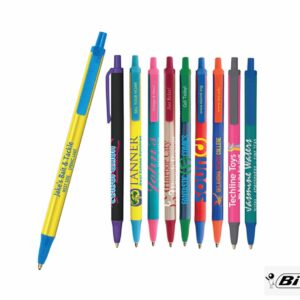 Image of different promotional pen options
