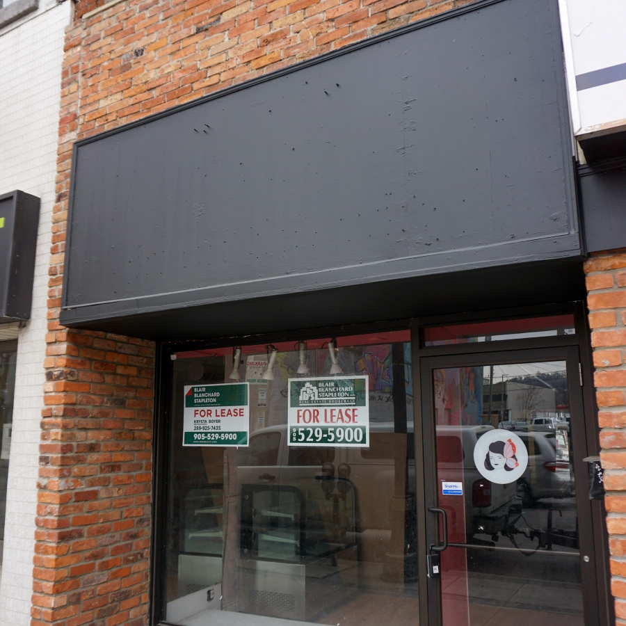Image of storefront for lease on King Street East