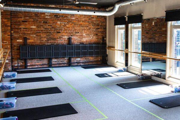 Image of an empty fitness studio