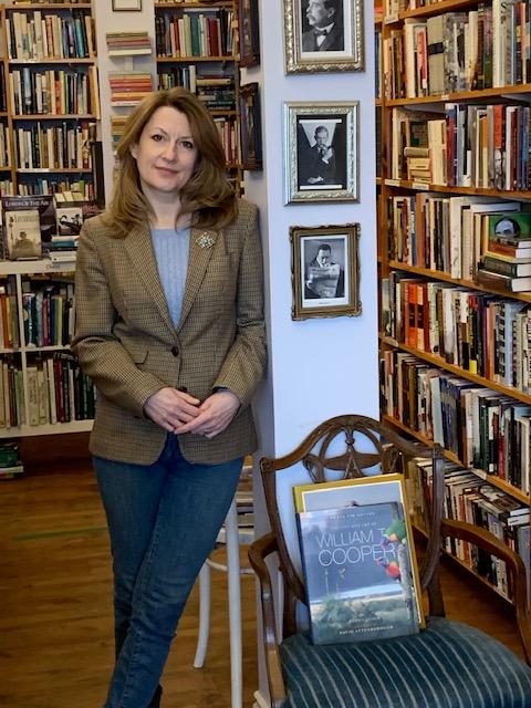 Image of Julie owner of J.H. Gordon Books - International Women's Day