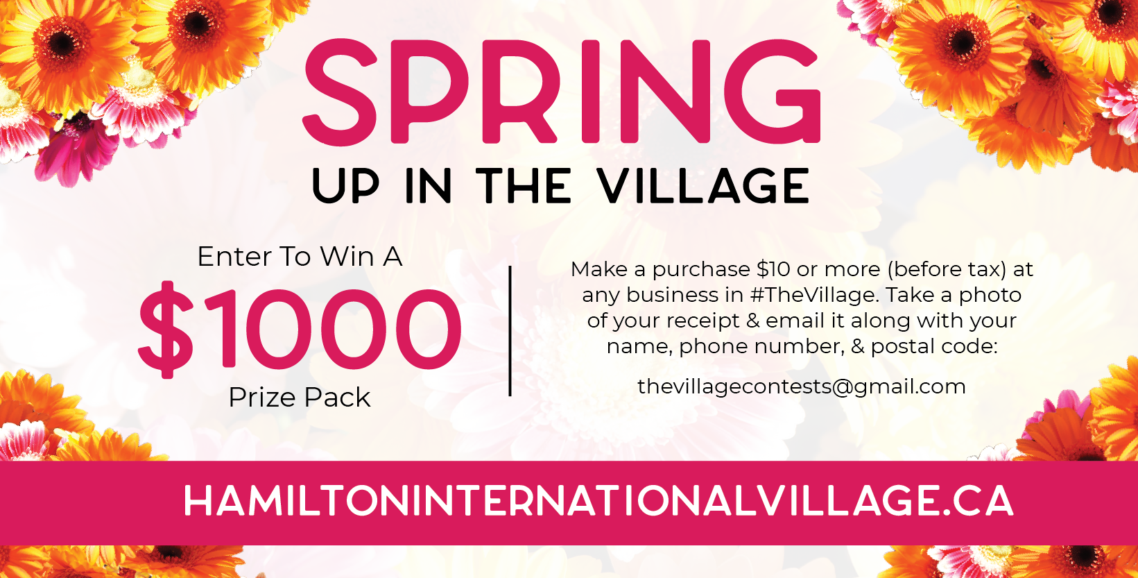 Artwork for Spring Up in the Village contest