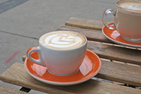 Image of Latte on table