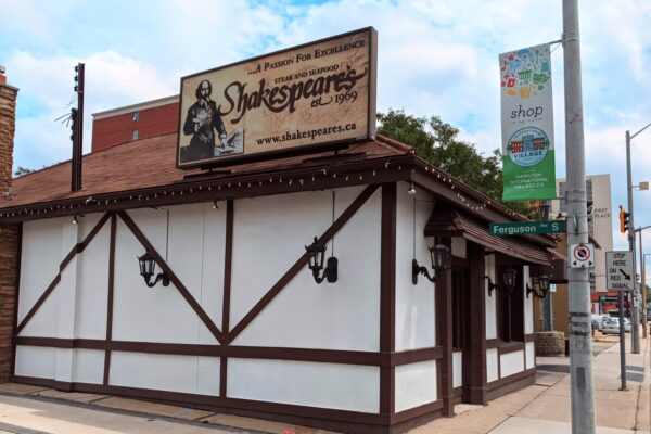 Shakespeare's Exterior Storefront
