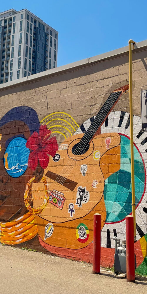 Image of the For the Culture Mural on King St. East